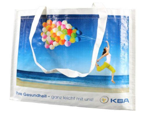 KBA Tasche mit Luftballon Design und umläufigem Einfassband am Boden PP
