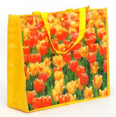 Woven Tasche Tulpen Holland 3672