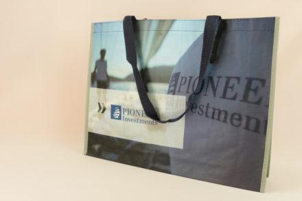 Werbetragetaschen pp woven Pioneer Investments #7