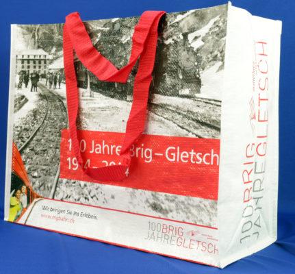 Gletschermotiv Tasche